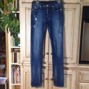 True Religion Jeans CORA mid-rise straight EUC